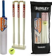 Sunley Wooden Cricket Kit Combo