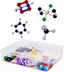 Edunovate Plastic Organic and Inorganic Chemistry Advance Molecular Models with Extra Lone Pair and Pie Bond - 220 Pieces