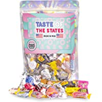 Tubbees American Candy Sweet Box, American Candy Gift Box, Premium Gift Box, Best of The USA, (Taste of The States Pick…