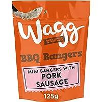 Wagg BBQ Bangers Dog Treats, 7 x 125 g