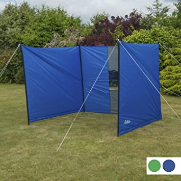 Andes Large Blue C&ing Windbreak Beach Windshield Shelter With Window Amazon.co.uk Sports u0026 Outdoors : tent windbreak - memphite.com
