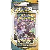 Pokémon Épée et bouclier Ténèbres embrasées Blister avec 2 boosters de cartes à jouer et à collectionner Version allemande