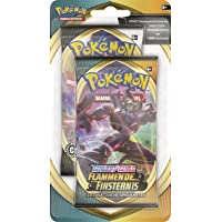 Pokémon Épée et bouclier Ténèbres embrasées Blister avec 2 boosters de cartes à jouer et à collectionner Version…