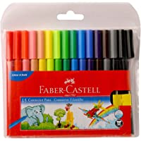 Faber-Castell Connector Pen Set - Pack of 15 (Assorted)