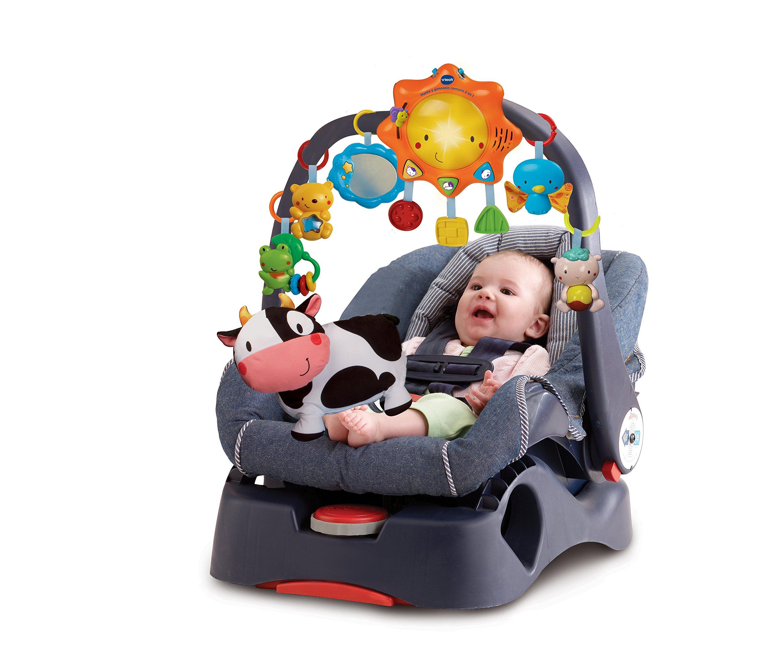 Centro de actividades VTech Baby figuras en moises