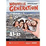 NOUVELLE GENERATION A1/A2 LIVRE/EXERCICES+CD+DVD