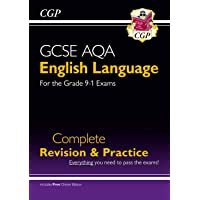 GCSE English Language AQA Complete Revision & Practice - Grade 9-1 Course (with Online Edition) (CGP GCSE English 9-1…