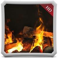 Glary Fireplace HD - Wallpaper & Themes