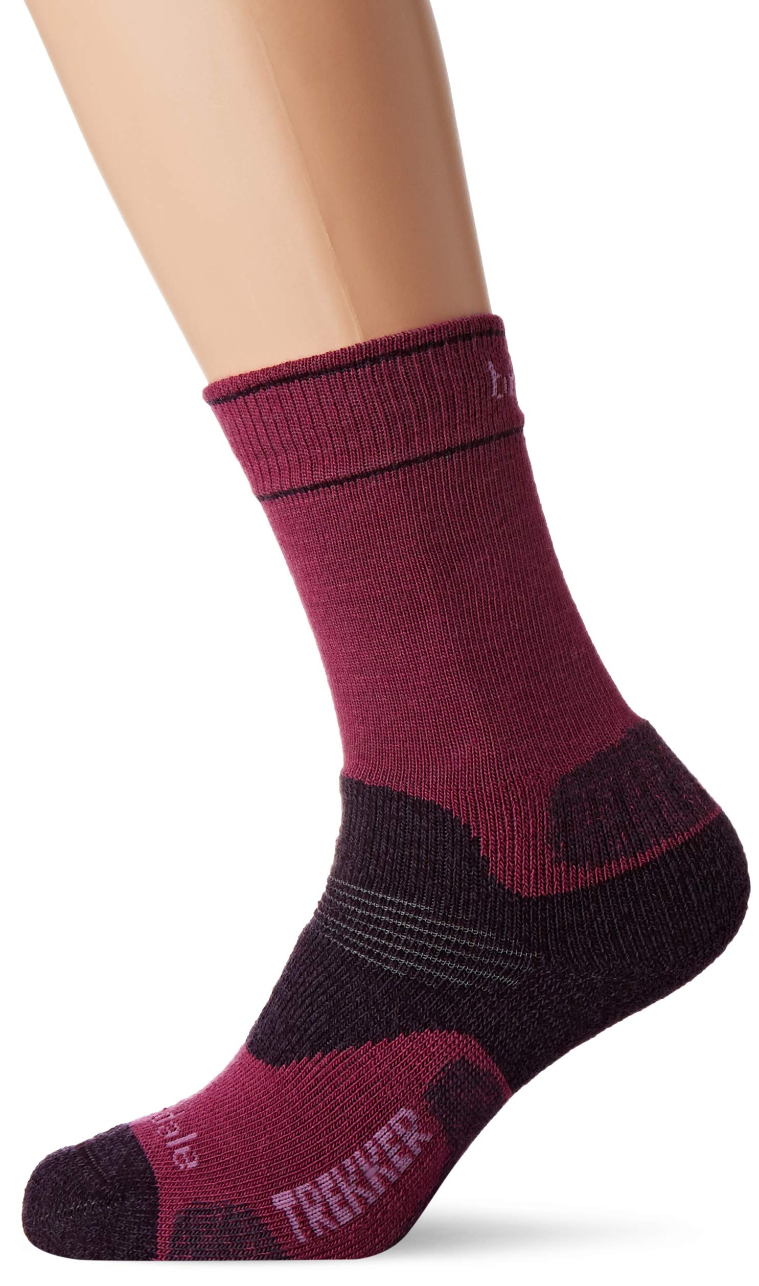Bridgedale Women's Hike Midweight Merino Endurance Pattern Socks 1