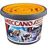 Meccano Junior, set da 150 pezzi per secchio modello STEAM per gioco aperto, per bambini dai 5 anni in su