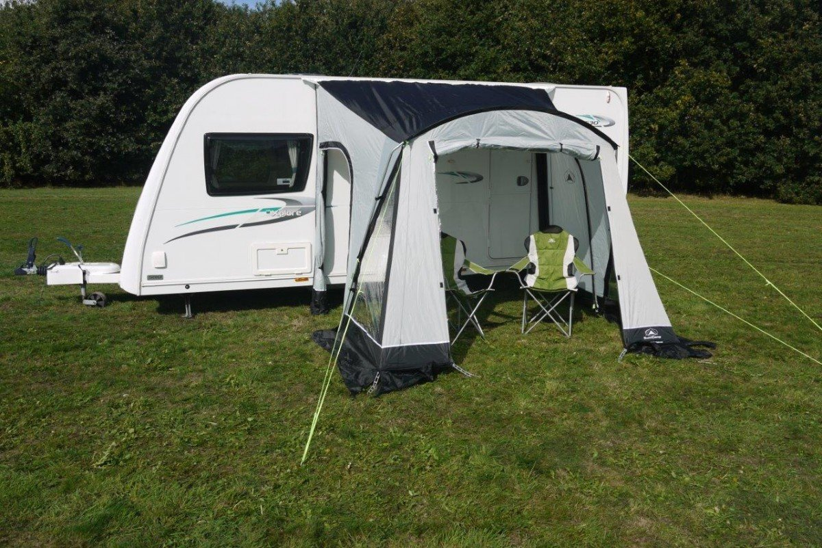 Sunncamp Swift Deluxe 260 Caravan Awning - Grey 2