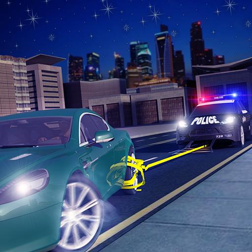 Autobahn Polizei Verfolgungsjagd Polizist Simulator 2018 Hoch Geschwindigkeit Polizist Auto Grappler Gangster Flucht Abenteuer Spiele Frei Zum Kinder