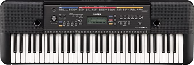 Yamaha PSR-E263 61-Key Portable Keyboard with adaptor