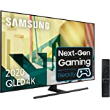 "Samsung QLED 2020 55Q70T - Smart TV de 55"" 4K UHD, Inteligencia Artificial 4K, HDR 10+, Multi View, Ambient Mode+, One Remote"