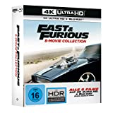 Fast & Furious - 8-Movie Collection (+ Blu-ray) [4K Blu-ray]