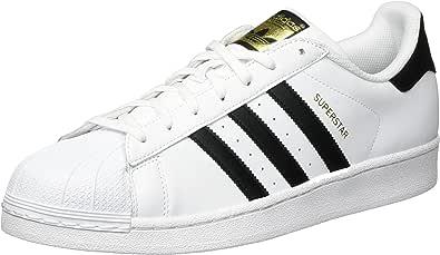 adidas Originals Men's Superstar Shoe, FTWR White/Core Black/FTWR White, 10 M US