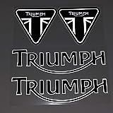 para Triumph Casco Motocicleta Etiqueta Etiqueta Etiqueta Etiqueta Etiqueta Reflectante Etiqueta En Pegatina De Coche Adecuad