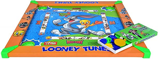 Zitto Looney Tunes Kids Carrom Board (20x20 inch)