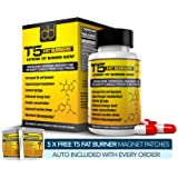 Fat Burners : Strongest Legal Diet & Weight Loss Pills (1 Month Supply) + 5 Free T5 Fat Burning Patches
