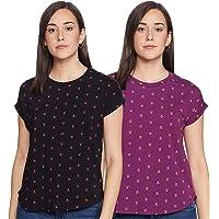 Amazon Brand - Myx Women's Loose Fit T-Shirt