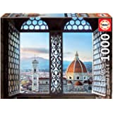 Educa Puzzle. Views of florence 1000 Teile