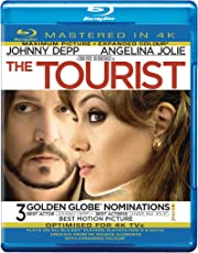The Tourist (3 Golden Globe Nominations) (Region Free | US Import) -Mastered in 4K