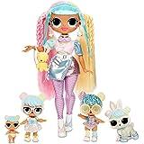 LOL Surprise OMG Familia Bon Bon con más de 45 sorpresas que incluyen muñeca Candylicious OMG, Bon Bon, Bling Bon Bon, Lil Bo