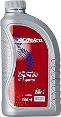 ACDelco A19348784 20W-40 API SL (Jaso MA2) 4-T Supreme Red Engine Oil (900 ML)