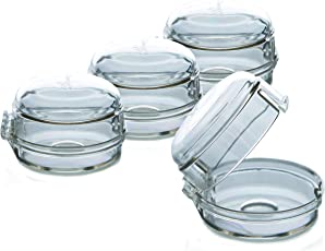 Dreambaby 4 Pack Stove Knob Covers (Clear)