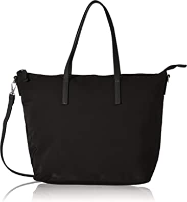 TOM TAILOR bags LARA Damen Shopper L, black, 48x14x31