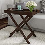 Worthy Shoppee Home Decorative Display and Accent Table Center Table Wooden (Brown)