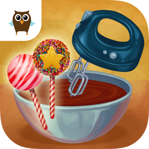 Candy City Fun - Cookie, Cake Pop, Frozen Ice Cream & Smoothie Maker (Candy Icecream Maker)