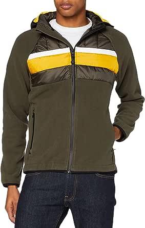 Superdry Men's Chestband Hybrid Zip Thru Jacket