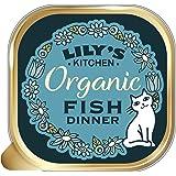 Lily's Kitchen Fish Dinner Cibo Umido Biologico per Gatti (19 x 85g) - 1.6 kg