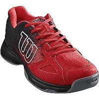 Wilson Men's Tennis Shoes, KAOS STROKE, Grey/White/Blue