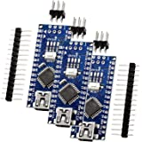 AZDelivery 3 pcs Nano V3 con Atmega328 CH340 compatible con Arduino y con E-Book incluido!
