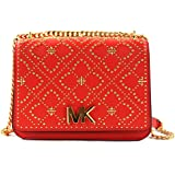Michael Kors Women's Istanbul Mott Leather Large Chain Shoulder Bag Purse Handbag
