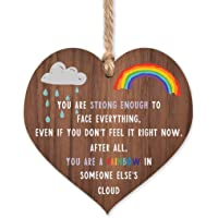 Rainbow gifts | Rainbow in someone else's cloud | thinking of you - miss you gifts for best friend Keyworker | cheer up…