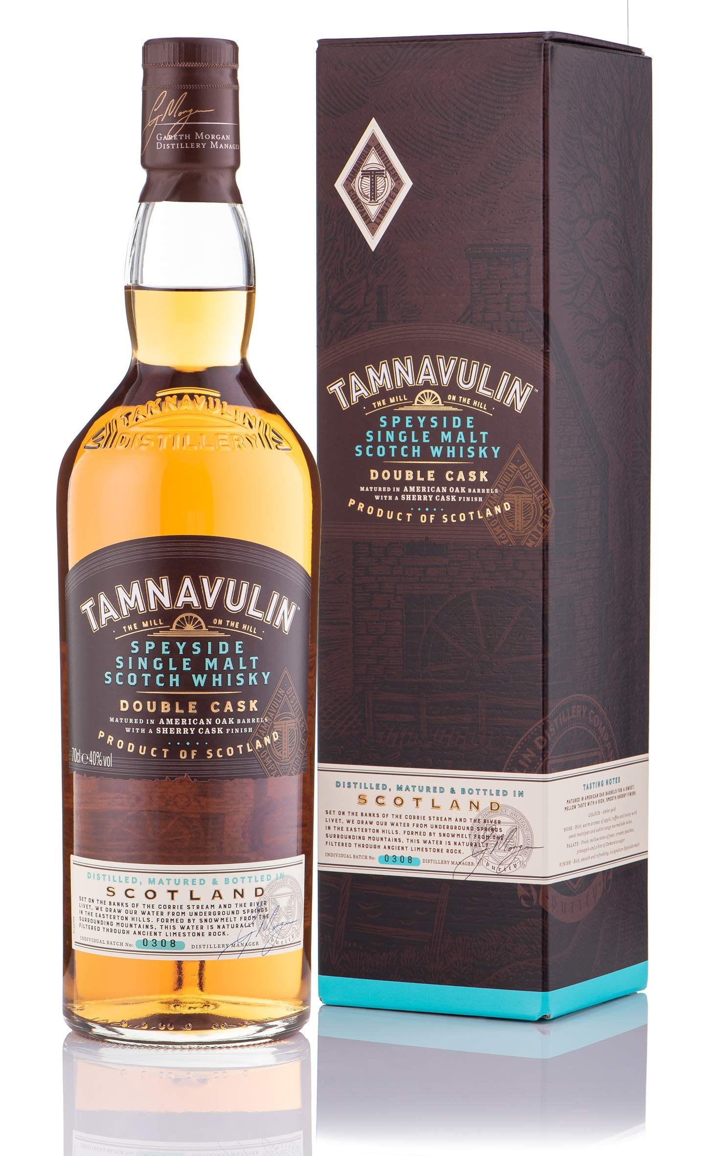 Tamnavulin Speyside Single Malt Whisky, 70 cl