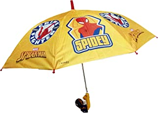 Art Box Special Material Spidey Print Umbrella for Small Boys Kid up to Age 10 Years Approx 19 inch Long