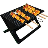 8 x 30.48cm Non Stick BBQ Skewer Set Grill Kebab Meat Cooking Grill Camping