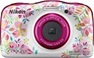 Nikon Coolpix W150 13.2 MP Waterproof Camera with Full HD Recording with 16GB Card and Camera Case (Pink)