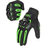 COFIT Motorcycle Gloves for Men and Women, Full Finger Touchscreen Motorbike Gloves for BMX ATV MTB Riding, Road Racing, Cycl