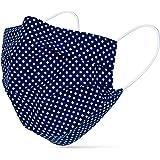 tanzmuster ® mascherina lavabile per bambini e adulti - 100% cotone OEKO-TEX 100 con nasello e tasca per filtro - Community m