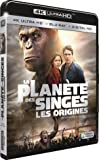 La Planète des Singes : Les origines [4K Ultra Blu-Ray + Digital HD] [4K Ultra HD + Blu-ray + Digital HD]