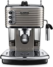 De'Longhi Scultura Pump Espresso Coffee Machine, Grey, ECZ 351.BG