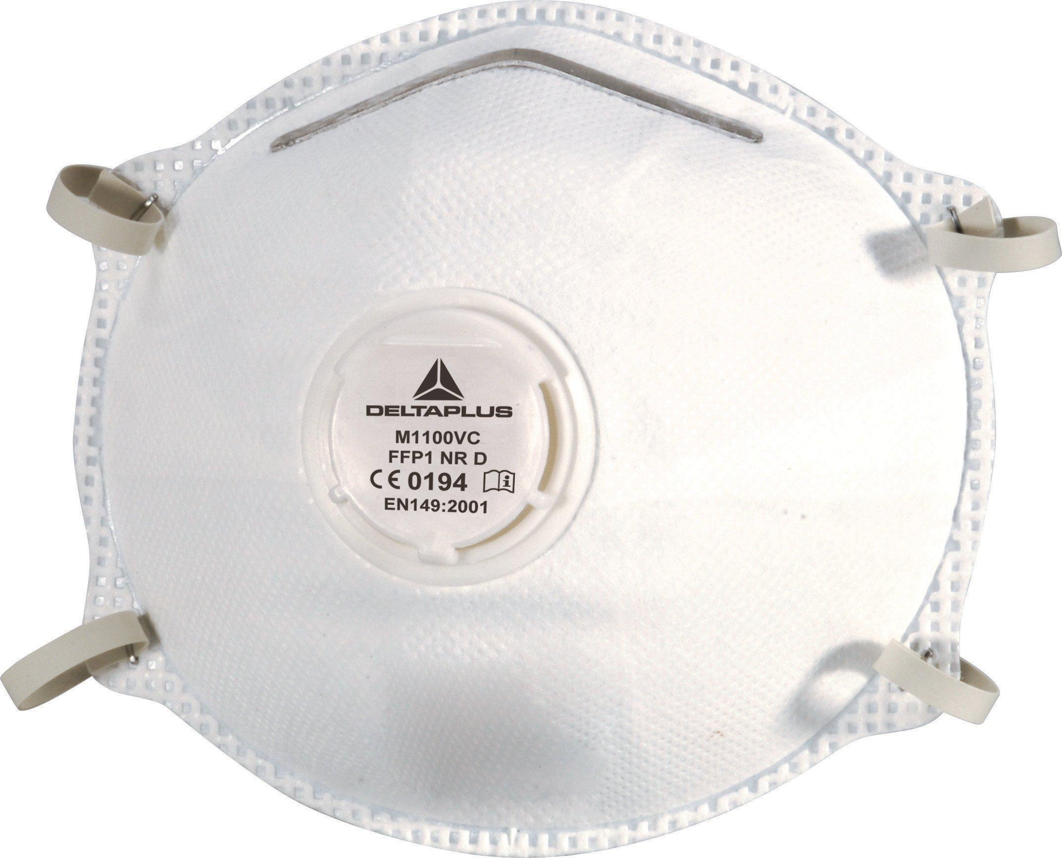 Venitex-M1100Vc-Mascherine-Antipolvere-Monouso-Di-Tipo-Ffp1-Con-Facciale-Filtrante-E-Valvola-Confezione-Da-10-Pezzi