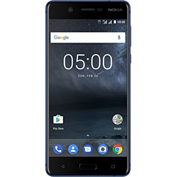 "Nokia 5 Dual SIM 4G 16GB Blue - Smartphones (13.2 cm (5.2""), 16 GB, 13 MP, Android, 7.1.1 Nougat, Blue)"
