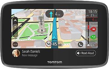 TomTom Go 5200 Navigationsgerät (12,7 cm (5 Zoll) Updates über WI-Fi, Smartphone Benachrichtigungen, Freisprechen, Lebenslang Karten-Updates Welt, Traffic über Integrierte SIM-Karte)