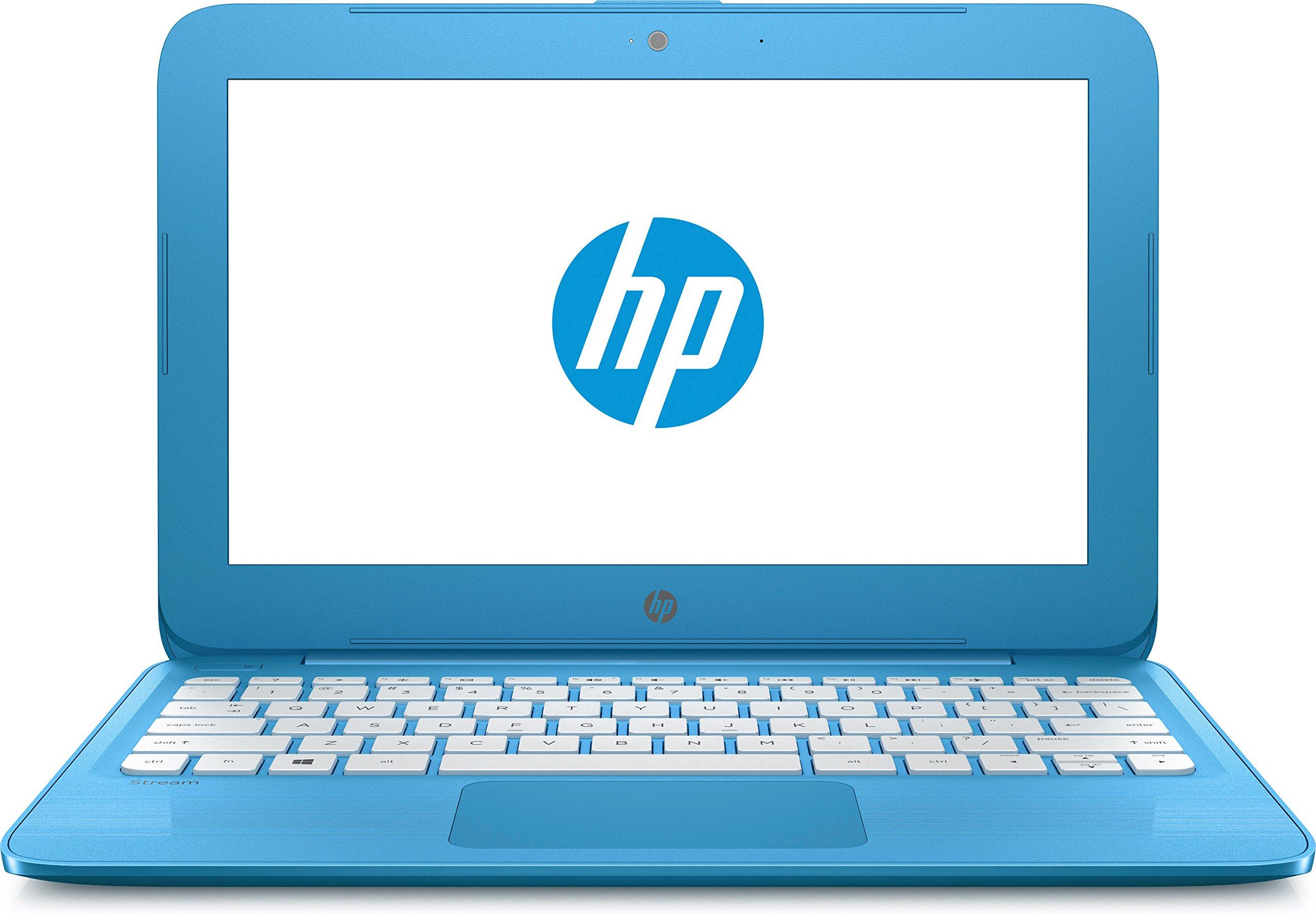 "HP 11-y000ns Stream - Ordenador Portátil de 11.6"" HD (Intel Celeron N3060, 2 GB RAM, 32 GB eMMC, Intel HD Graphics 400, Windows 10);Azul Aqua - [Teclado QWERTY Español]"